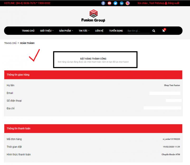 Hướng dẫn đặt hàng trên website Fusiongroup.vn 16
