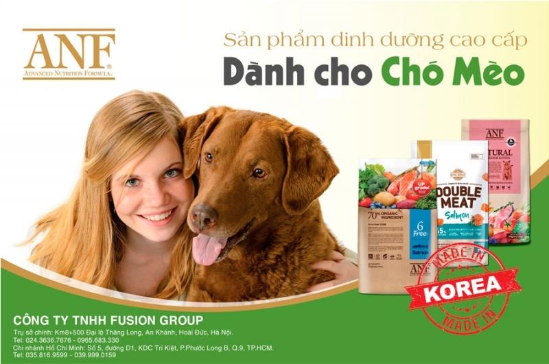 Thức ăn hữu cơ dành cho chó mèo  ANF