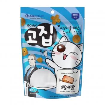 Bánh thưởng dinh dưỡng cho mèo Gozip vị cá hồi