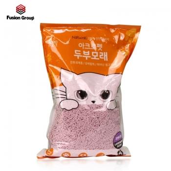 Cát vệ sinh đậu phụ Acropet hương hoa oải hương (100% đậu phụ tự nhiên)