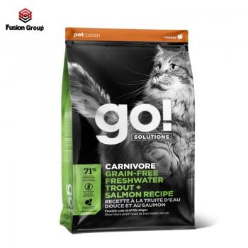 Go! Thức ăn hạt vị cá hồi cho mèo nhạy cảm