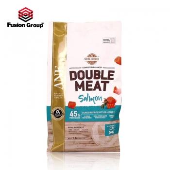 Thức ăn hạt gấp đôi thịt tươi vị cá hồi cho mèo ANF Double Meat 1.4kg