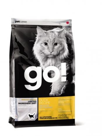 Thức ăn hạt cao cấp dành cho mèo mọi lứa tuổi vị vịt - Go! (nhập khẩu Canada)