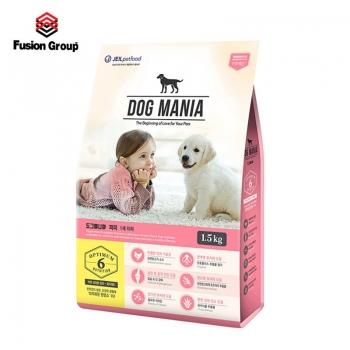 Thức ăn hạt cho chó nhỏ DOG MANIA Puppy 1.5kg (dưới 6 tháng tuổi)