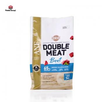 Thức ăn hạt gấp đôi thịt tươi cho chó vị bò ANF Double Meat 1.4kg