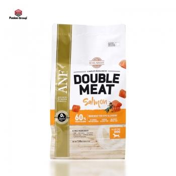 Thức ăn hạt gấp đôi thịt tươi cho chó vị cá hồi ANF Double Meat