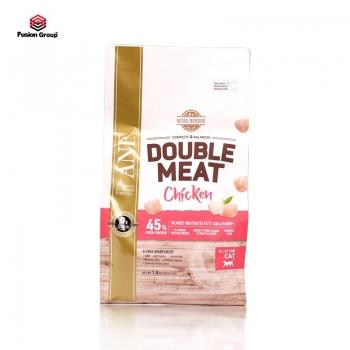 Thức ăn hạt gấp đôi thịt tươi vị gà cho mèo ANF Double meat 1.4kg