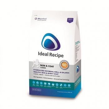 Hạt dinh dưỡng lý tưởng tốt cho da và lông chó trưởng thành Ideal Recipe Skin & coat 1kg